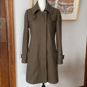 Forever 21 Army Green Wool Coat!